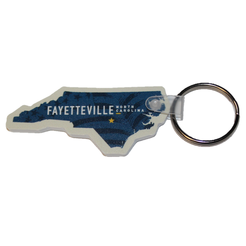 North Carolina State Keychain