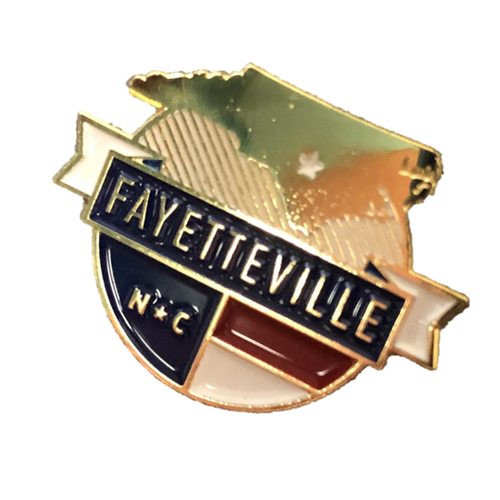 Fayetteville, North Carolina  Lapel Pin