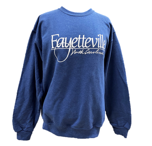 Heather Blue Sweatshirt