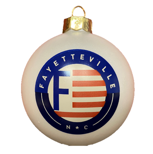 F - Flag Christmas Ball Ornament