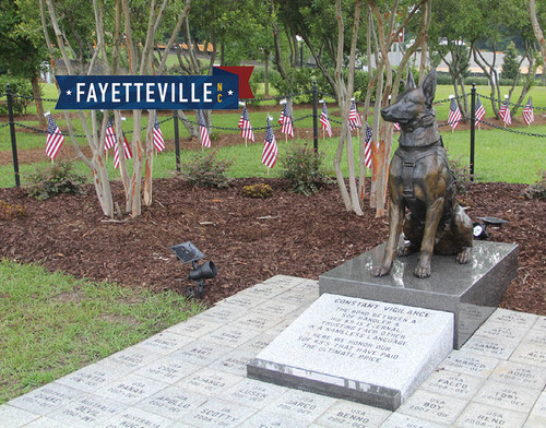 "SOF K9 ""Constant Vigilance"" is the first memorial for Special Operations Forces (SOF) canines killed in the line of duty."