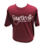 """""""Fayetteville North Carolina"""" t-shirt, maroon with white letters."""