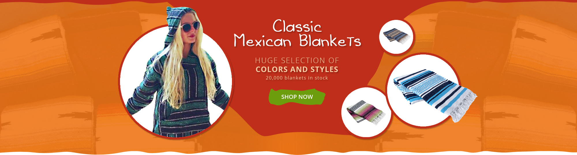 Super Store for Mexican Blankets  Free Shipping