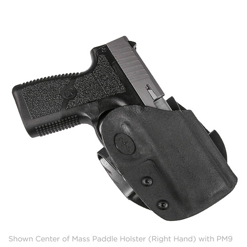 COM Kydex Paddle Holster P9/40 Left Hand