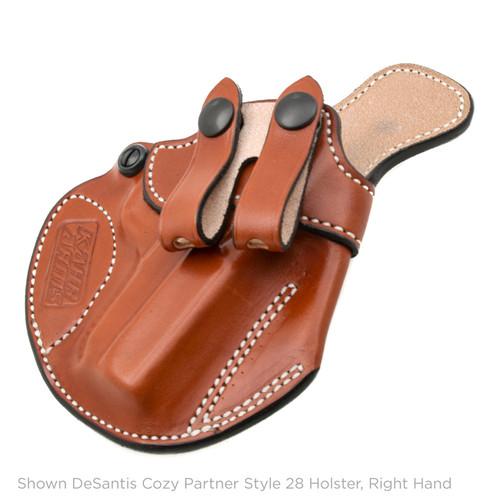 DeSantis Cozy Partner Style 28 Holster, Left Hand