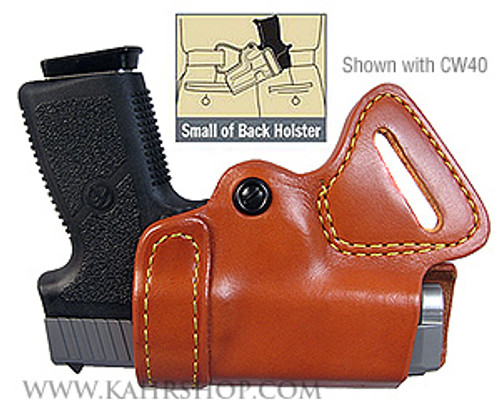 Gould & Goodrich Small of Back Holster Left Hand TP45