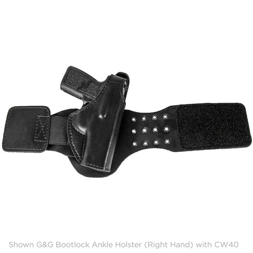 Gould & Goodrich Boot lock Ankle Holster, PM45, Right Hand