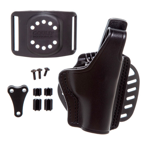 Gould & Goodrich Paddle and Belt Slide Holster P9, CW9, K9, E9, P40, CW40, K40, Right Hand