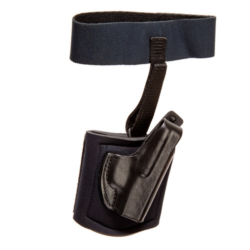 Gould & Goodrich Ankle Holster With Garter, CW380/P380, Right Hand
