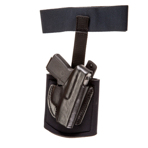 Gould & Goodrich Ankle Holster With Garter Right Hand