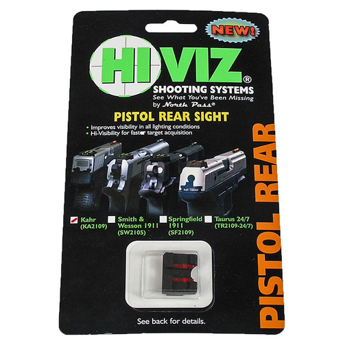 HiViz Red Rear Sight
