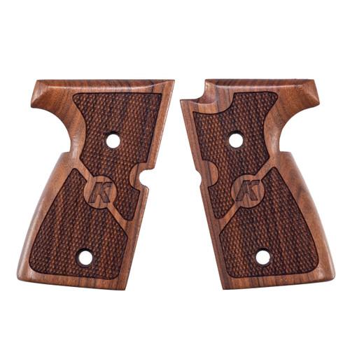 Wood Grips, Checkered, MK Series
