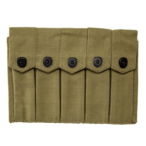WWII 5 Mag Pouch Carrier for 20 round stick magazines