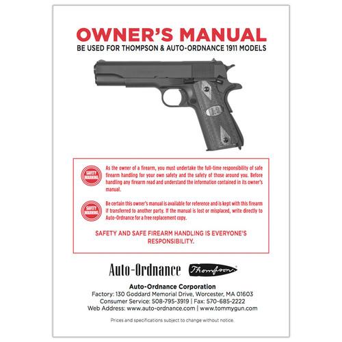 G-OM 1911 Owner's manual
