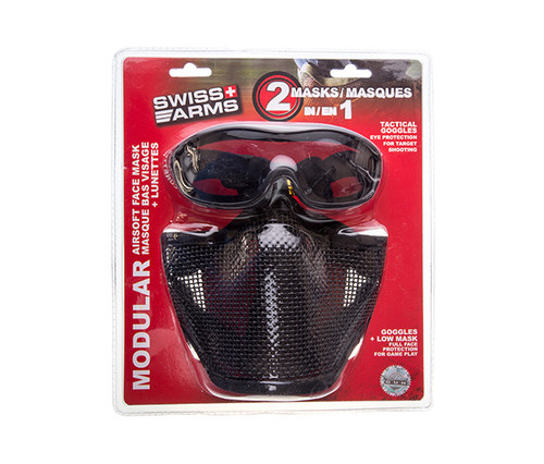 SWISS ARMS TACTICAL MASK W/ WIRE MESH (QPS603991)