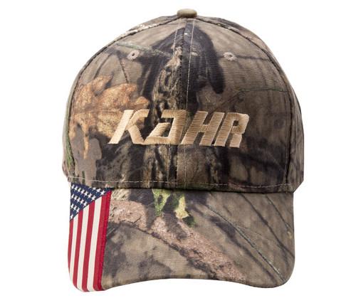 KAHR cap Camo with Flag (QSCKCF)