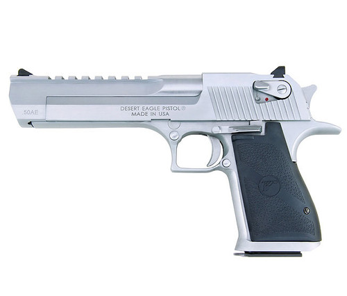 Desert Eagle Pistol, Brushed Chrome
