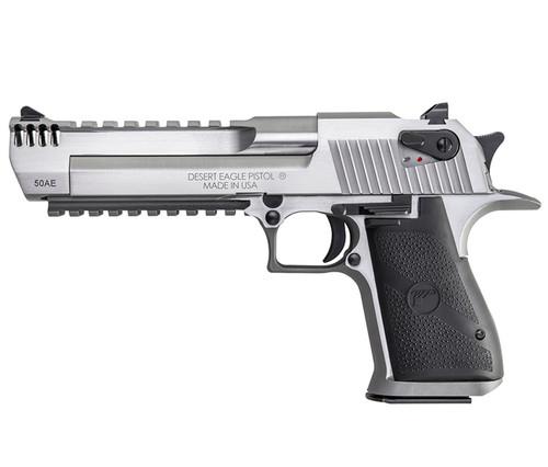Desert Eagle Pistol, Stainless w/ Integral Muzzle Brake