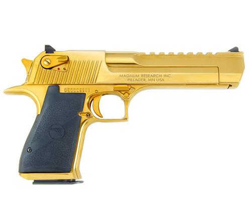 Desert Eagle Pistol, Titanium Gold