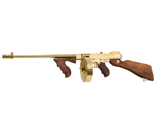 1927A-1, Deluxe Carbine, .45 Cal.,  Gold plated
