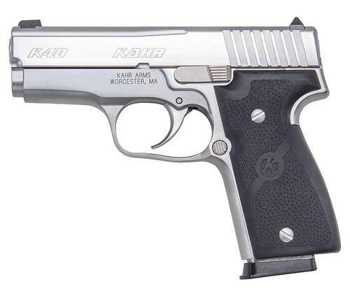 K40, Elite, Polished Stainless Steel Slide, CA Approved