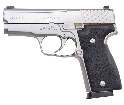 K40, Matte Stainless Steel Slide w/ Night Sights, CA Approved
