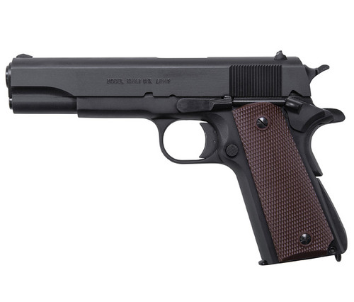 1911A1, GI Specs., Matte Black Finish, .45Cal, MA Approved