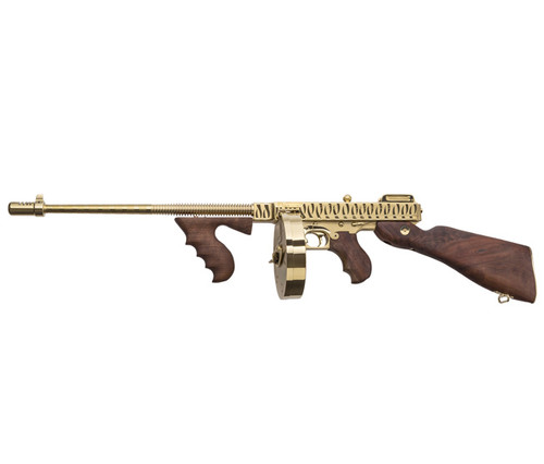 1927A-1, Deluxe Carbine, .45 Cal., Gold plated with Tiger Stripe