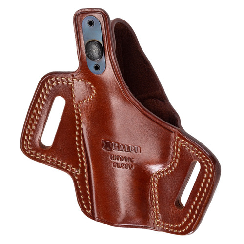 GALCO FLETCH HIGH RIDE Outside Waist Band, S9, Tan, Right Hand