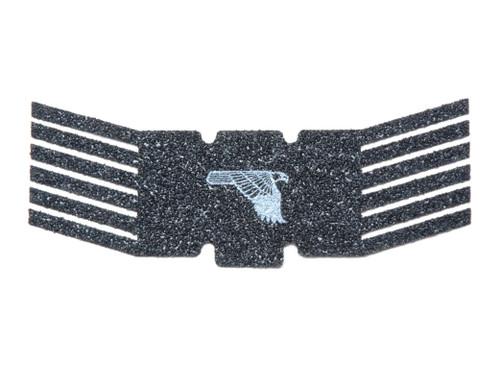 Arachni Slide Grip with Logo for DE XIX, Black