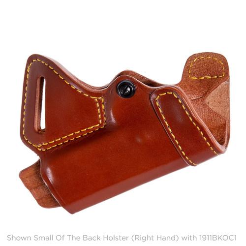 Small Of The Back Holster for 1911, Left Hand