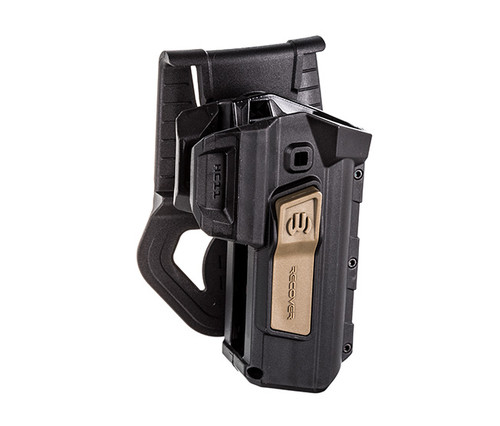 Active Retention Holster for 1911, Tan Right Hand
