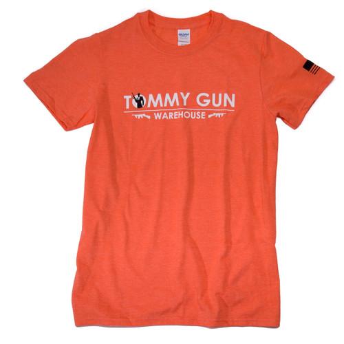 Tommy Gun Warehouse Banner Shirt Orange