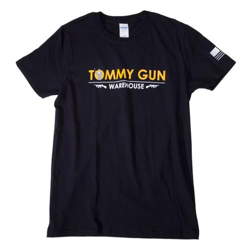 Tommy Gun Warehouse Banner Shirt Black