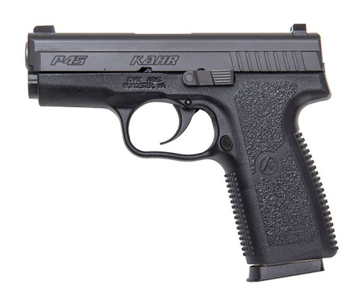 P45, Blackened Stainless Slide w/ Night Sights, CA Approved