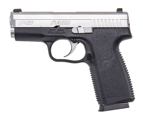 P45, Matte Stainless Slide w/ Night Sights, CA Approved