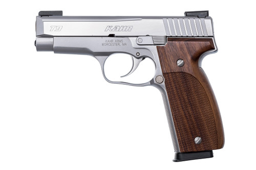T9, Elite, Polished Stainless Steel Slide w/ Night Sights