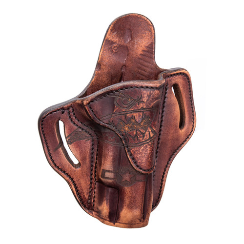 1911 Outside Waist Band Leather Holster, Squadron, Right Hand/Left Hand