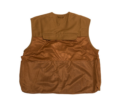Brown Quail Vest with KAHR Logo