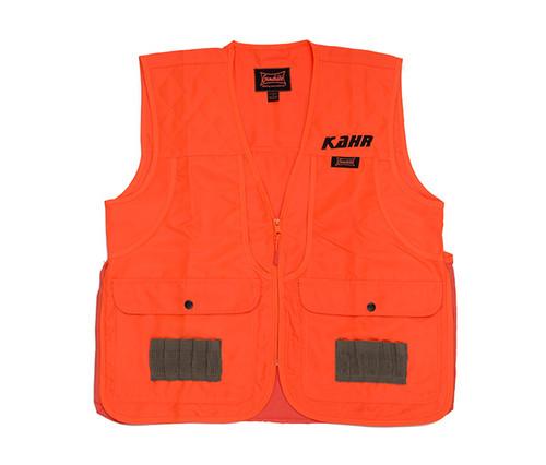 Orange Front Loader Vest with KAHR Logo