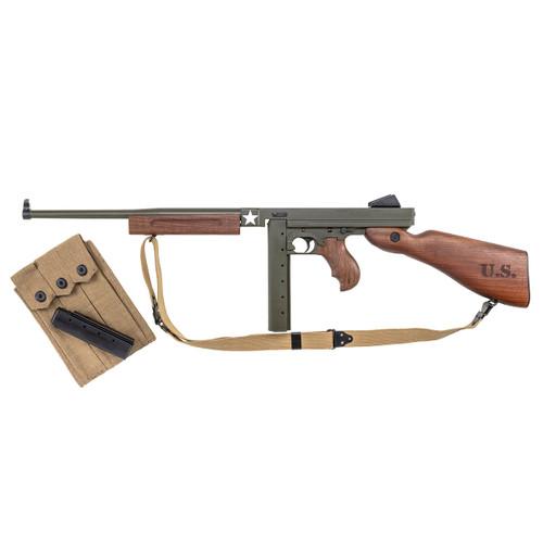 "M1 Carbine, ""Tanker WWII Thompson"" .45 Cal. 30rd & 20rd stick magazine"