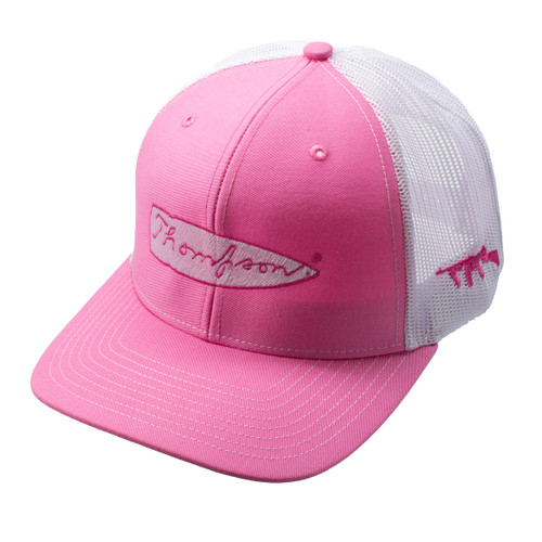 Thompson Pink Hat w/ Mesh Back