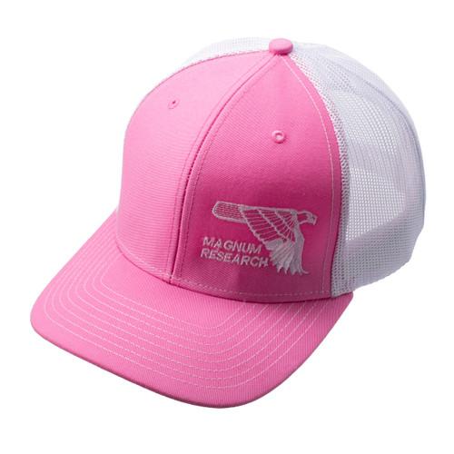 MRI Pink Hat w/ Mesh Back