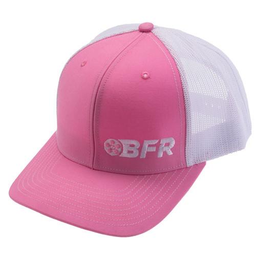 BFR Pink Hat w/ Mesh Back