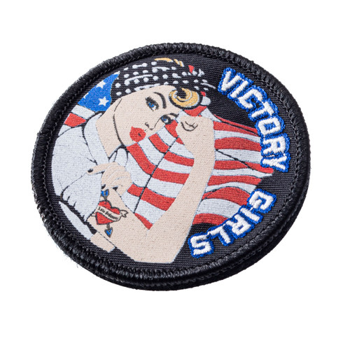 Victory Girl Morale Patch