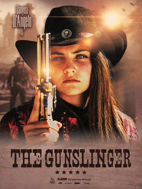 The Gunslinger Danyela Poster
