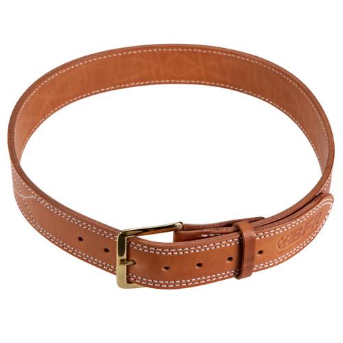 """BFR Stamped Leather Belt 1 3/4"""""""