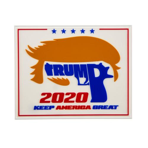 Trump 2020 Rubber Patch w/o Velcro