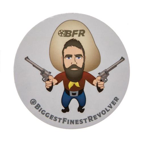 """BFR Guy """"Yosemite Brett"""" Sticker"""