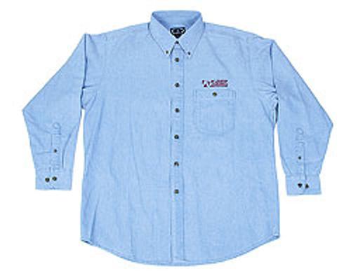 Denim Shirts, Light Blue, XXL